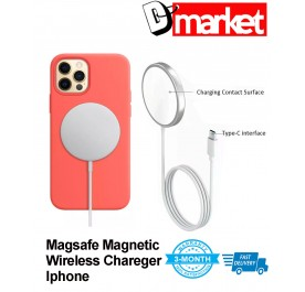 IP12 15W Magsafe Magnetic wireless charger with type-c connector