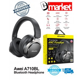 Original Awei A710BL Bluetooth5.0 Stereo Headphone NoiBass for Android IOS Mobile PC