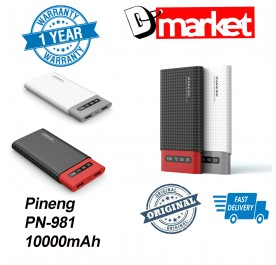 Original Pineng PN-981 power bank 10000mAh