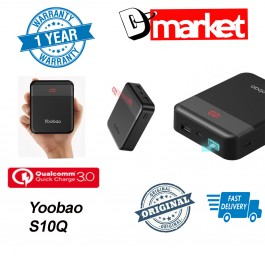 Original Yoobao S10Q Qualcomm3.0 Power bank 10000mAh