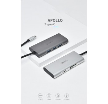 Wiwu Apollo A631ST Macbook Type-C Hub