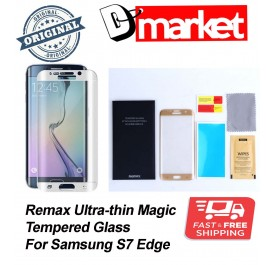 S7 edge Remax Ultra-thin Magic tempered glass for Samsung S7edge