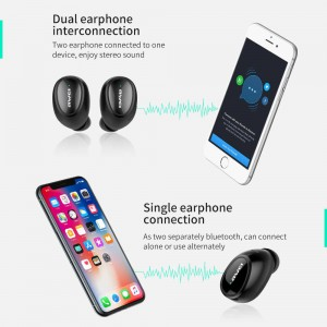 Original Awei T5 TWS earphone bluetooth 5.0 True Wireless Stereo earphone