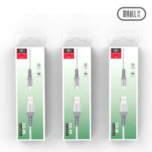 Original Mgall C2 3A USB cable for Micro Iphone Type-C