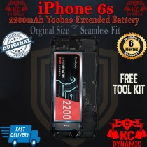iPhone 6S Extended 2200mAh 100% Authentic Yoobao Orginal battery with FREE Tool Kit - KC DYNAMIC