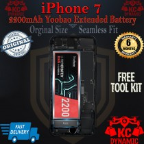 iPhone 7 Extended 2200mAh 100% Authentic Yoobao Orginal battery with FREE Tool Kit- KC DYNAMIC