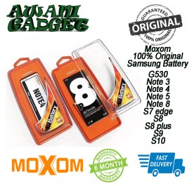 Original Moxom Samsung battery G530 Note3 Note4 Note5 Note8 S7edge S8 S8plus S9 S10