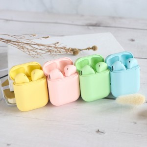 Macaron Inpod 12 TWS Bluetooth 5.0 wireless earphone for Android Iphone