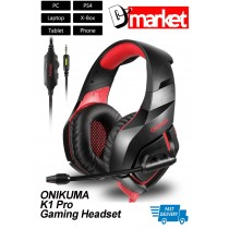 For PS4 PC Phone ONIKUMA K1 Professional Gaming Headset