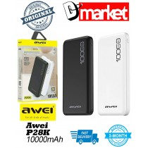 Original Awei P28K 10000mAh Power Bank