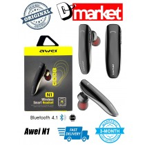Awei N1 Bluetooth Headset with mic Noise cancelling